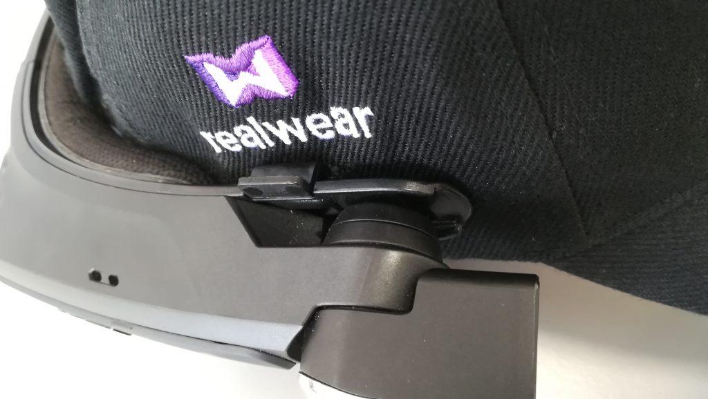 realwear ball cap clip